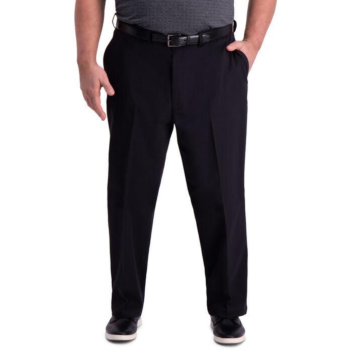 Big & Tall Premium Comfort Khaki Pant, Black