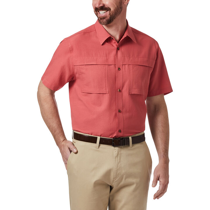 Double Pocket Guide Shirt, Red