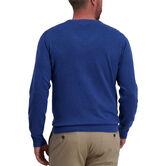 Basic V-Neck Sweater, Navy 2