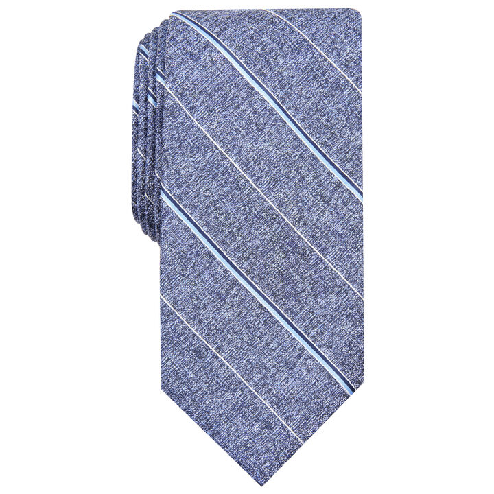 Striped Tie, Navy