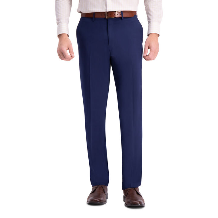 J.M. Haggar 4-Way Stretch Dress Pant, Bright Blue open image in new window