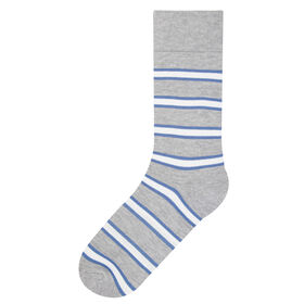 Cal Striped Socks, Graphite
