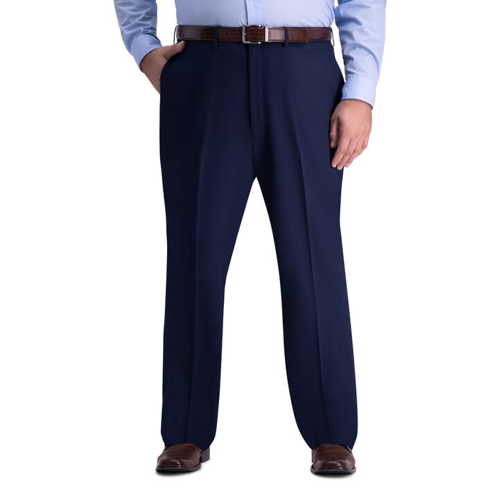 Big & Tall J.M. Haggar 4-Way Stretch Dress Pant, Blue