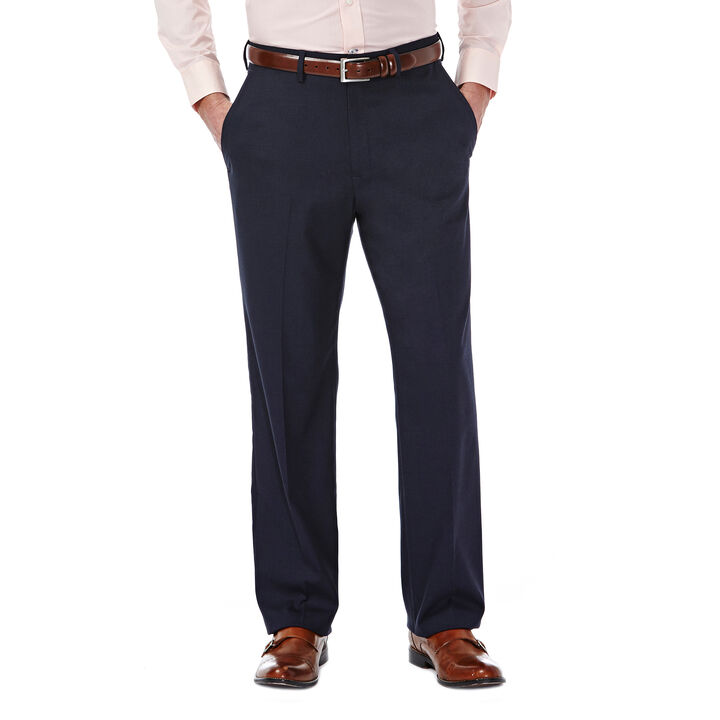 J.M. Haggar Premium Stretch Dress Slack, Dark Navy