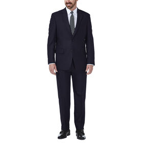 JM Haggar Deco Grid Suit Jacket, Navy