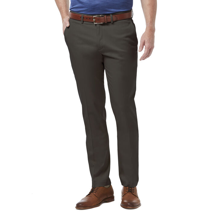 Premium No Iron Khaki Pant, Dark Grey