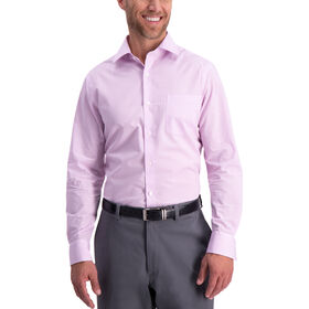 Plaid Premium Comfort Dress Shirt, Pink