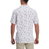 Sailboat Print Microfiber Shirt, White 2