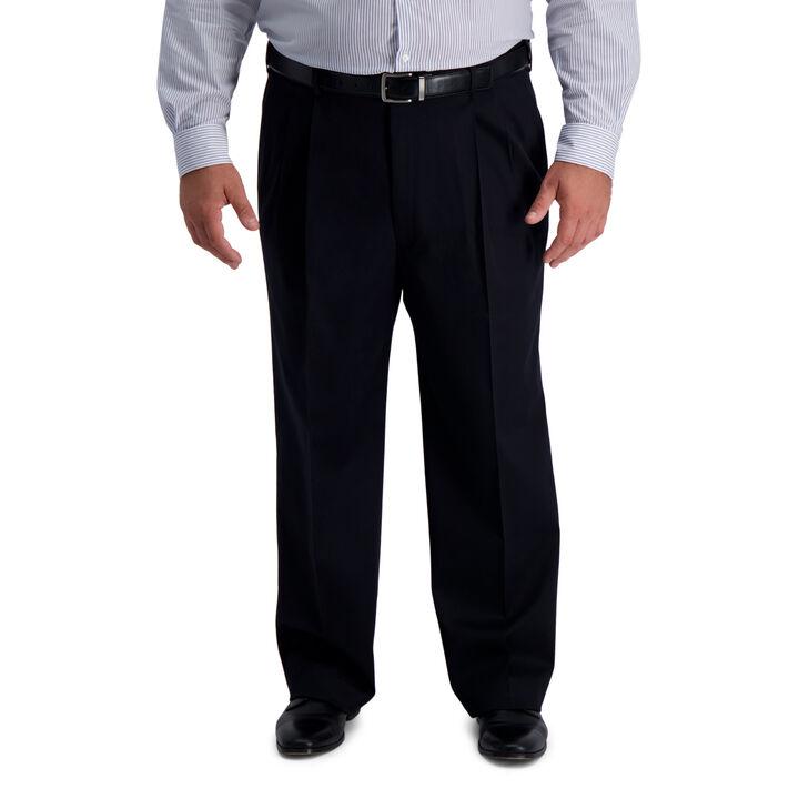Big & Tall Iron Free Premium Khaki, Black