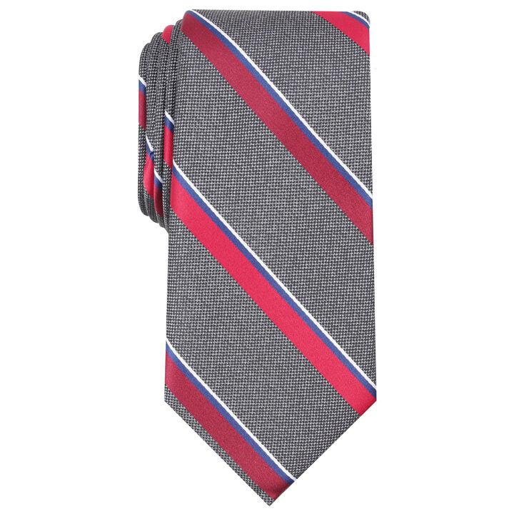 Rothbury Stripe Tie, Red