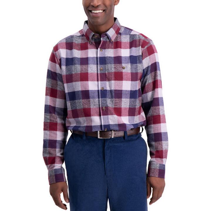 Multi Color Plaid Shirt, Peacoat