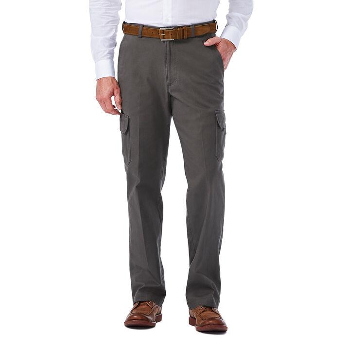 Stretch Comfort Cargo Pant, Medium Grey
