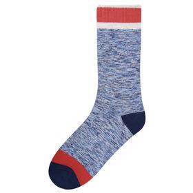 Marled Socks, Navy