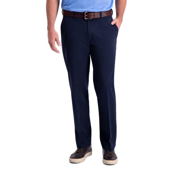Premium Comfort Khaki Pant, Dark Navy