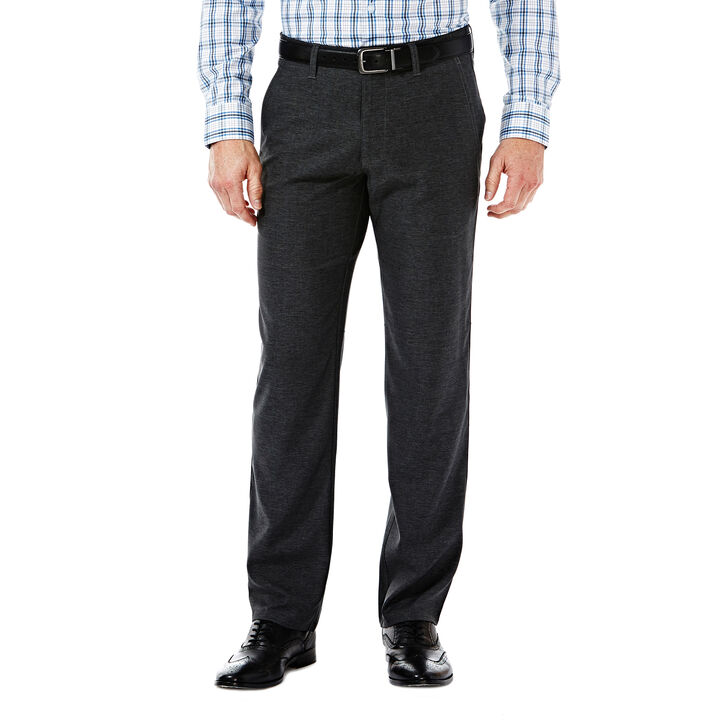 Haggar InMotion Active Pant, Charcoal Heather