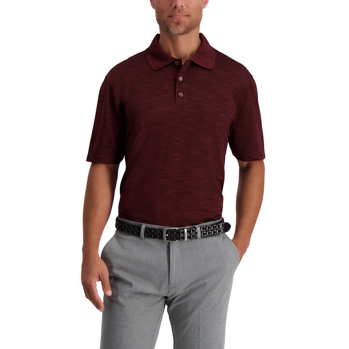 Space Dye Polo, Wine