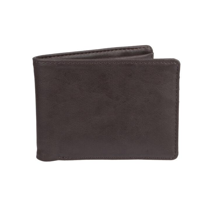 RFID Stretch Wallet, Brown