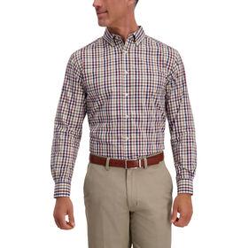 Multi Color Plaid Shirt, Deep Wine