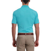 Cool 18® Pro Striped Golf Polo, Waterfall 2