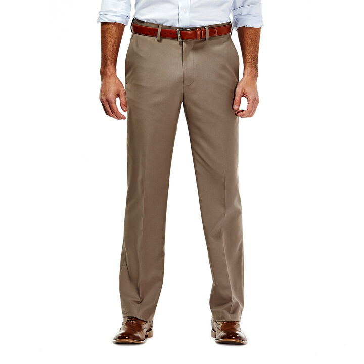 Gabardine Dress Pant, Medium Taupe