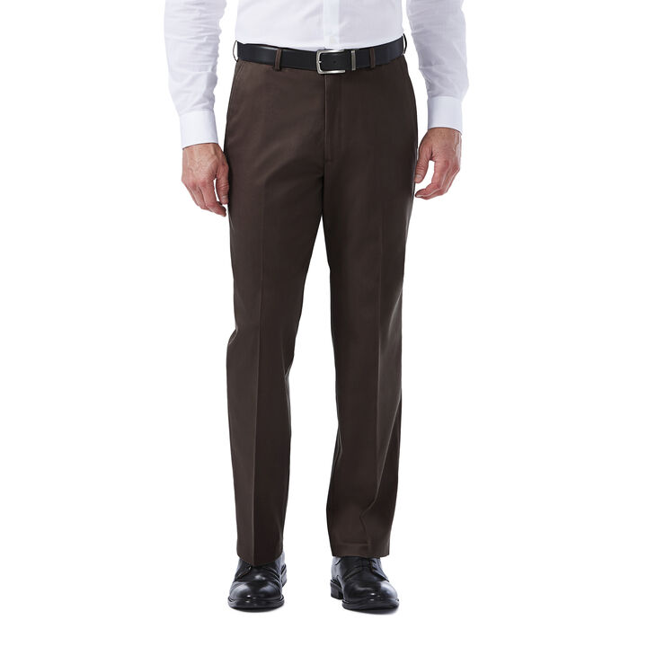 Premium No Iron Khaki,  Chocolate