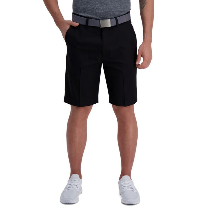 The Active Series™ Solid Utility Short, Black open image in new window