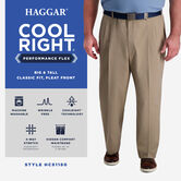 Big & Tall Cool Right® Performance Flex Pant, Khaki view# 6