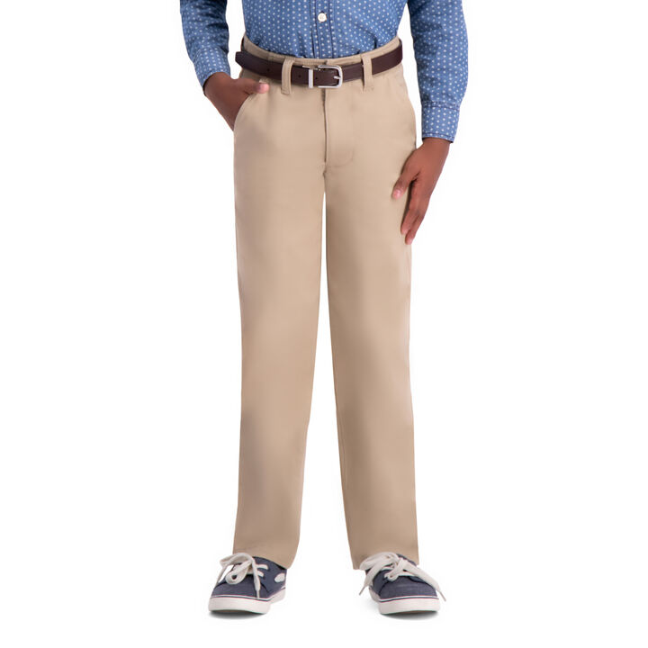 Boys Sustainable Chino (8-20), Khaki open image in new window
