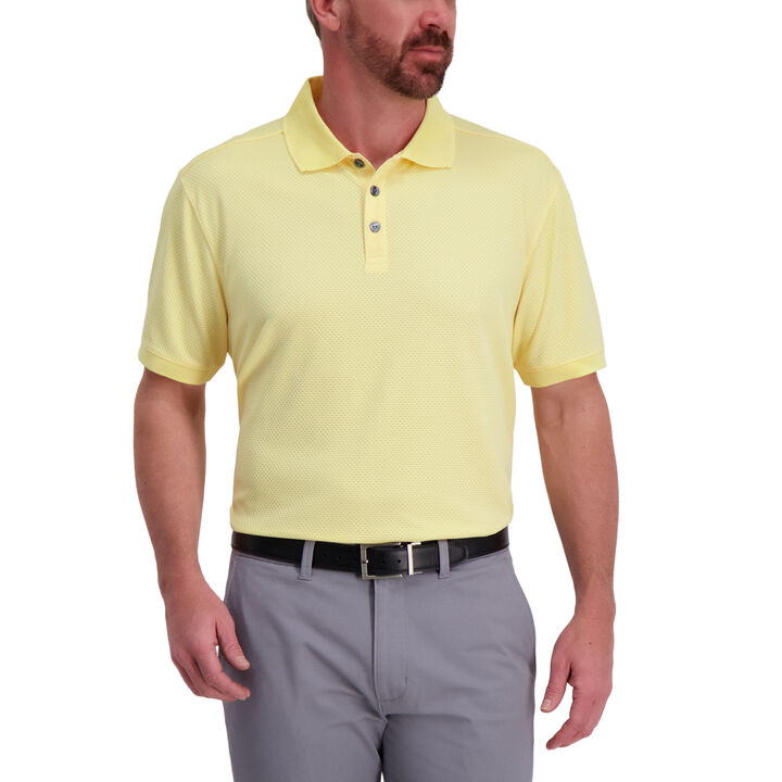 Cool 18® Pro Waffle Textured Golf Polo,