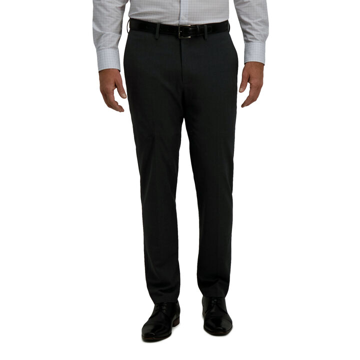 J.M. Haggar 4-Way Stretch Dress Pant - Check Glen Plaid,  open image in new window