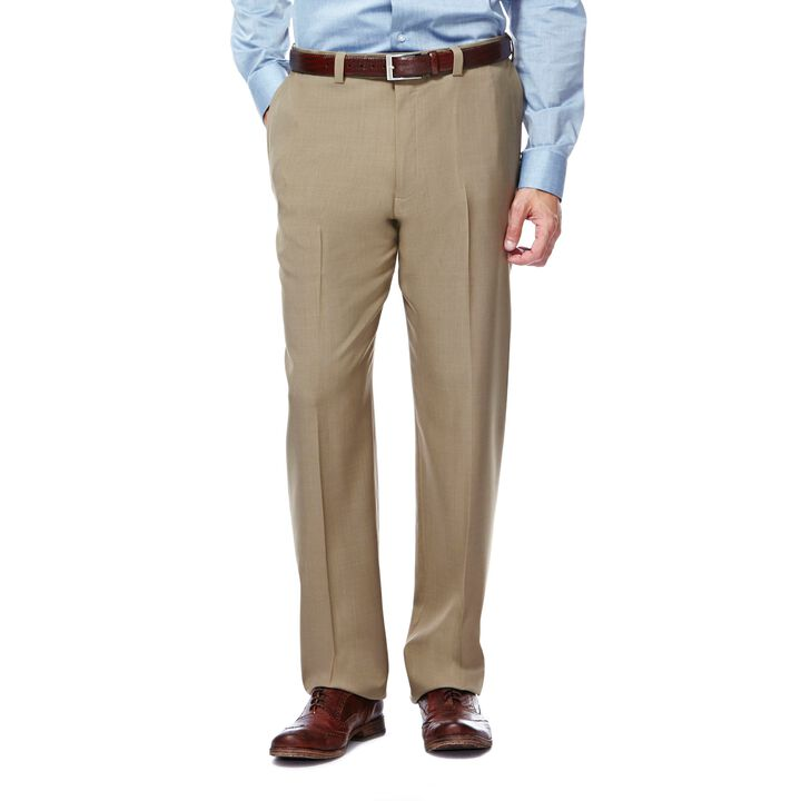 E-CLO™ Stria Dress Pant,  Taupe open image in new window
