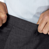 J.M. Haggar 4 Way Stretch Dress Pant, Medium Grey 5