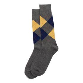 Argyle with Overplaid Sock, Bean