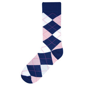 Argyle Socks, Navy
