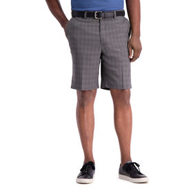 Cool 18® Pro Tonal Windowpane Short, Graphite