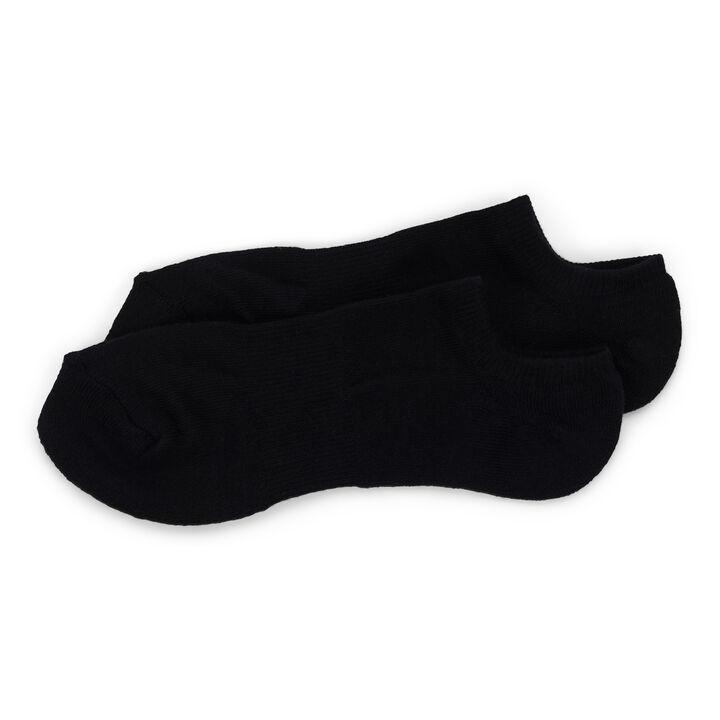 Performance Solid No Show Sock, Black