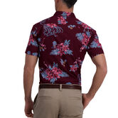Floral Flamingo Shirt, Aubergine 2