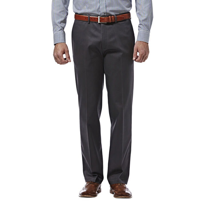 Premium No Iron Khaki, Dark Grey