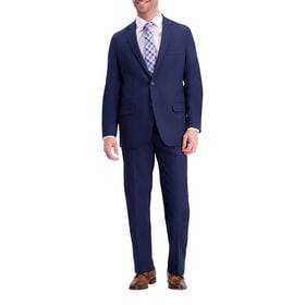 The Active Series™ Herringbone Suit Jacket, Midnight