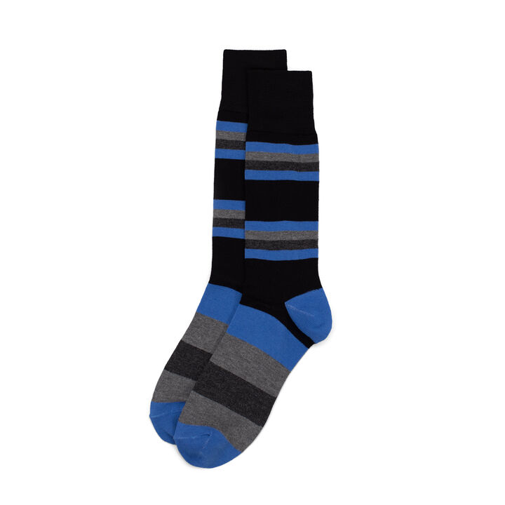 Striped Sock, Black