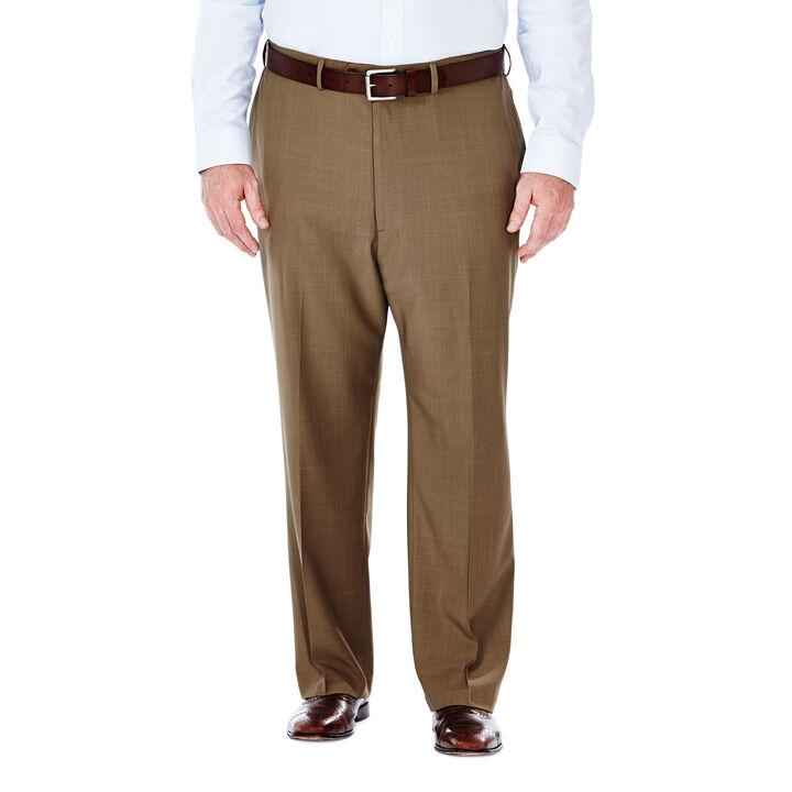 Big & Tall E-CLO™ Stria Dress Pant, Khaki