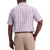 Plaid Button Down Shirt, Red 2