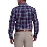Multi Color Plaid Shirt, Aubergine 2