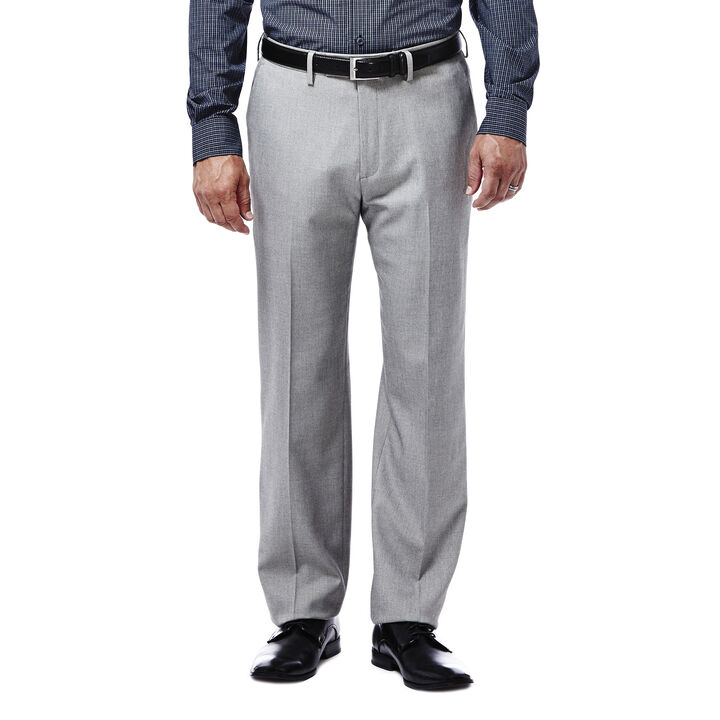 Expandomatic Stretch Heather Dress Pant, Oatmeal