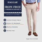 Iron Free Premium Khaki, Dark Navy 4