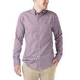 Gingham Button Down Shirt, Winetasting 1