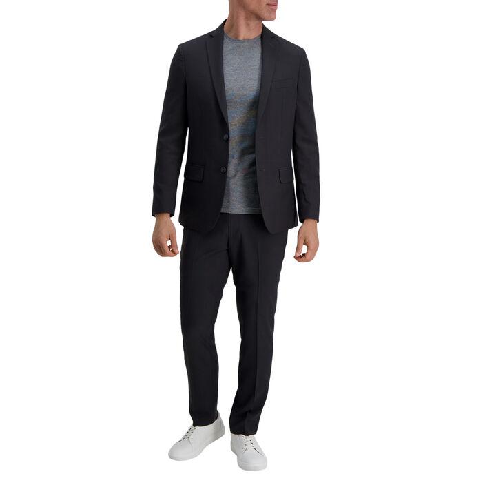 Smart Wash™ Repreve® Suit Separate Jacket, Black / Charcoal, hi-res