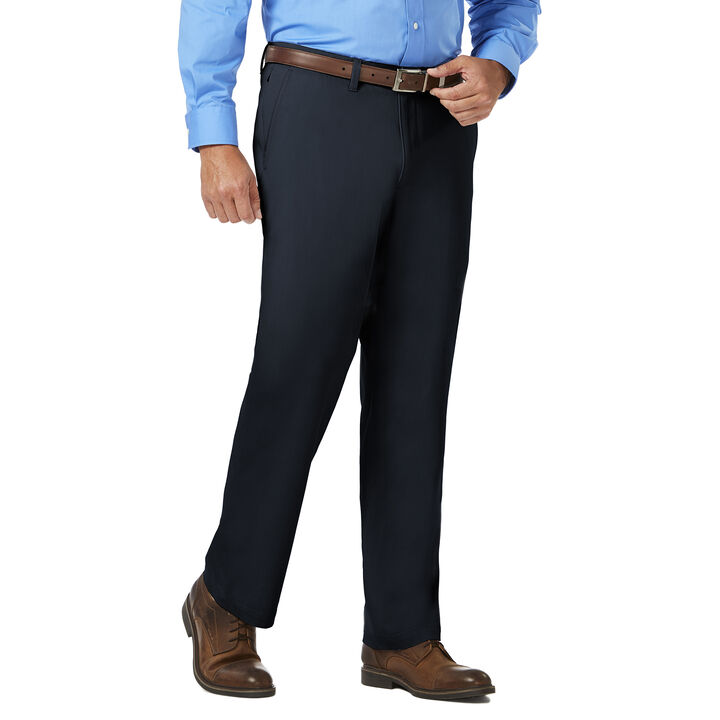 J.M. Haggar Luxury Comfort Chino, Navy