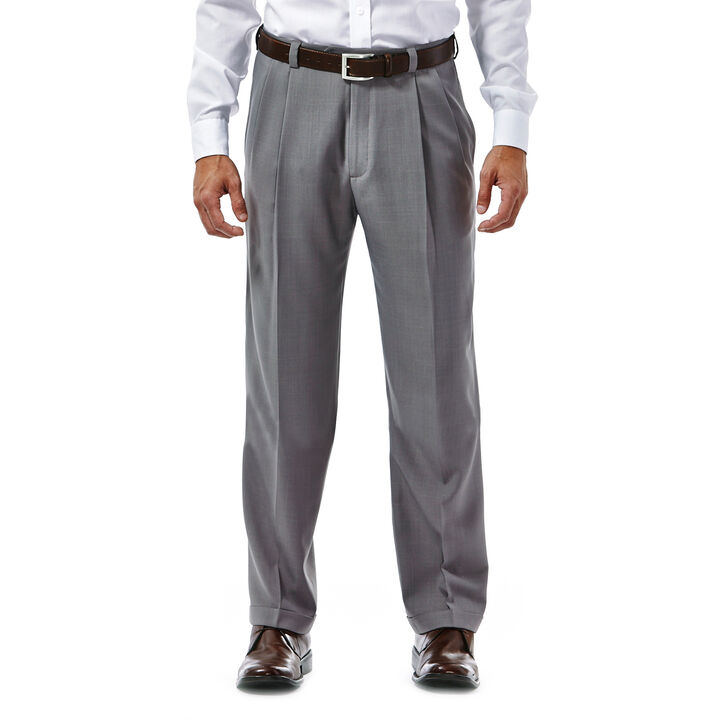 E-CLO™ Stria Dress Pant, Grey