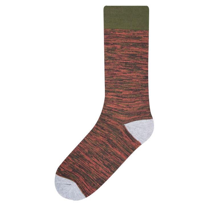 Random Feed Socks, Taupe